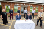 shinfield centre contract signing